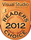 2012 visual studio magazine merit winner