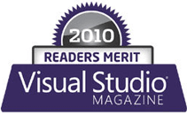 2010 readers merit visual studio magazine